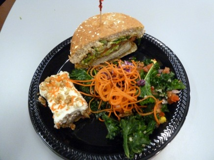 Tech Seminar Live Blog: Veggie Grill Lunch