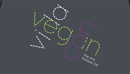 Presenting the 2013 Vida Vegan Con T-shirt (Preorder Now!)