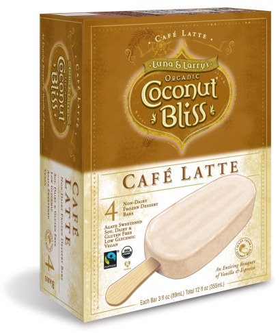 Cafe Latte Bar Box Vertical 3D Mock Up