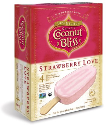 Strawberry Love Bar Box Vertical 3D Mock Up