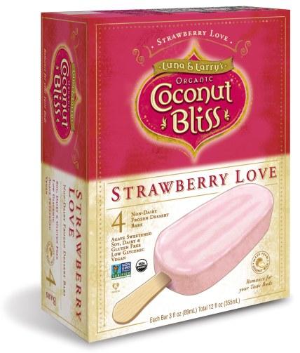 Strawberry Love Bar Box Vertical 3D Mock Up