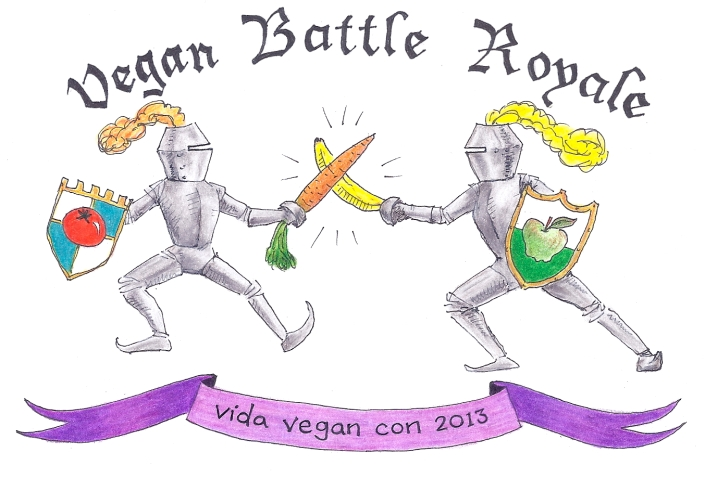 Vegan Battle Royale logo