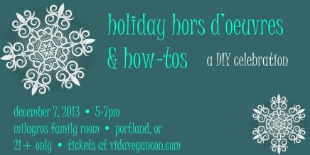 We're Throwing a Party: Holiday Hors D'oeuvres & How-Tos!