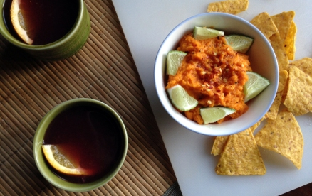 carrot_dip_cider_punch