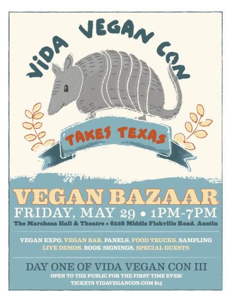 Vida Vegan Bazaar poster