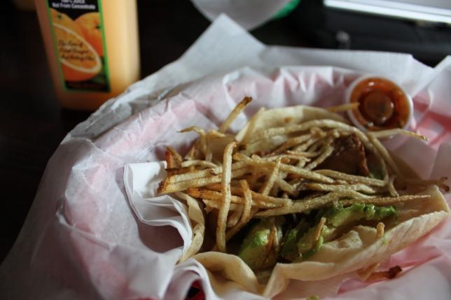 Breakfast Tacos, Cherrywood Coffeehouse.