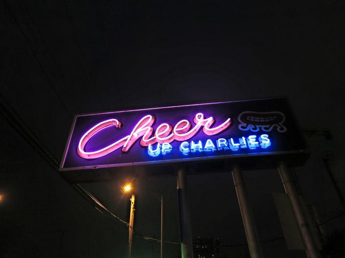 Cheer Up Charlie's bar